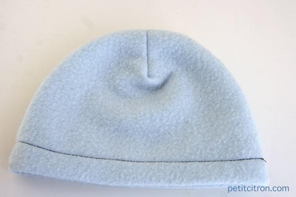 tuto couture bonnet 2 ans