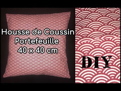 tuto couture coussin 40x40
