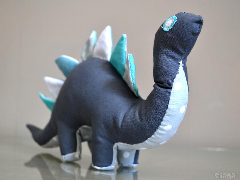 tuto couture doudou dinosaure