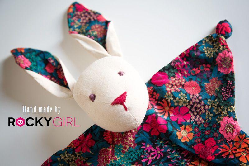 tuto couture doudou lapin