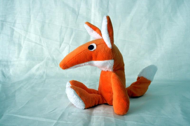 tuto couture doudou renard