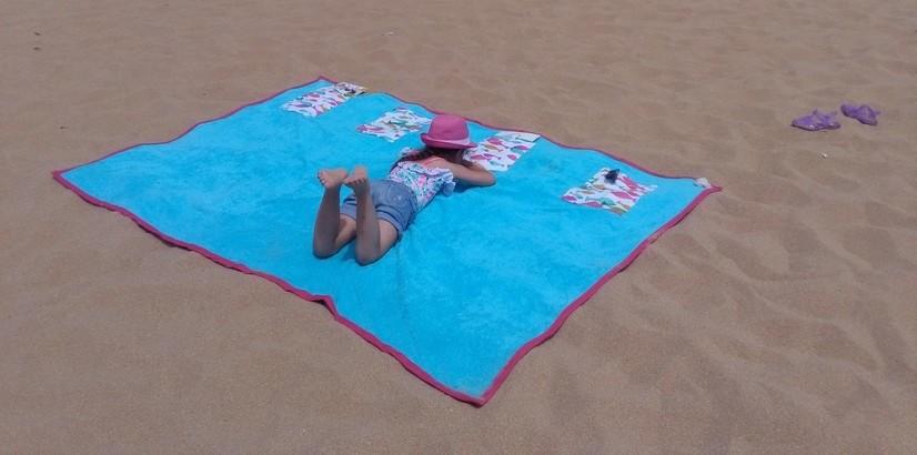 tuto couture drap de plage