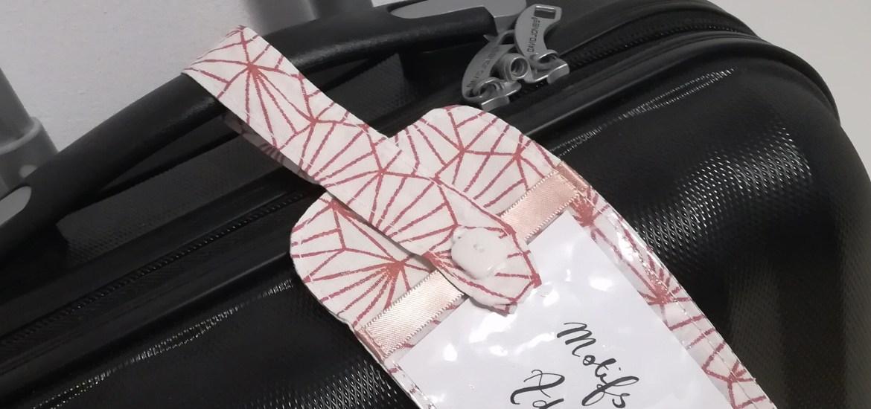 tuto couture etiquette bagage