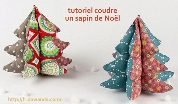 tuto couture facile pour noel