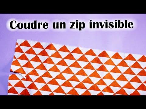 tuto couture fermeture invisible