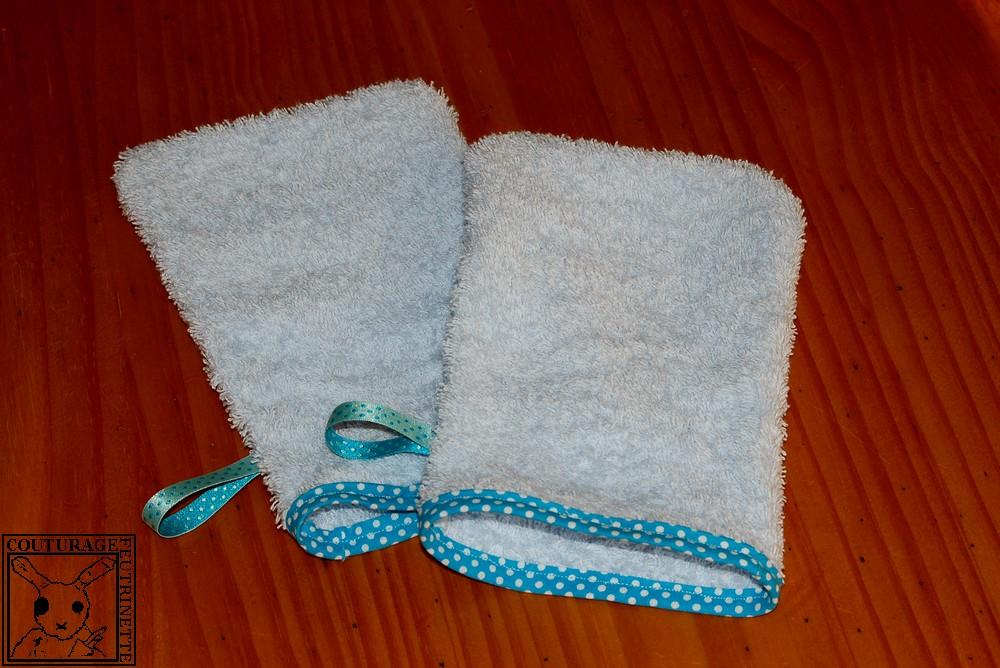 tuto couture gant de toilette