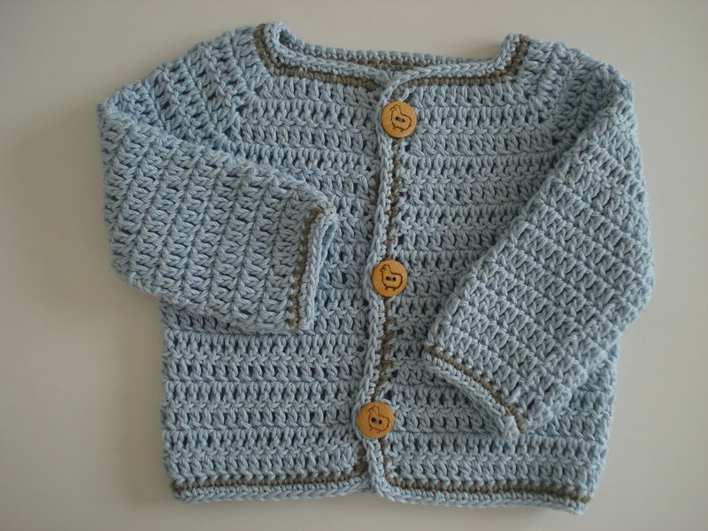 tuto couture gilet bebe