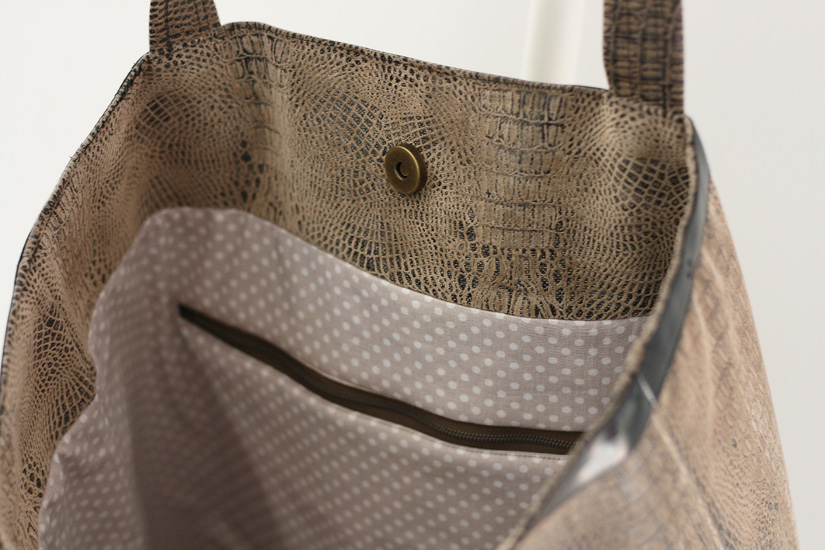 tuto couture grand sac
