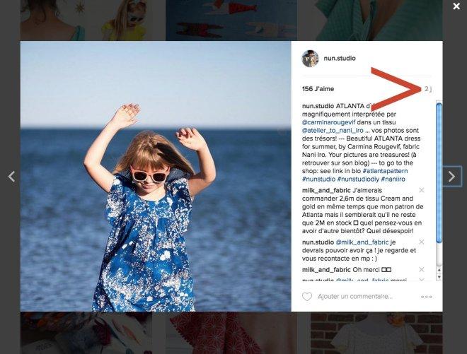 tuto couture instagram