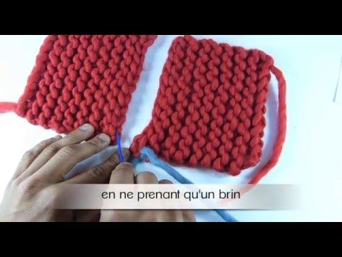 tuto couture invisible tricot