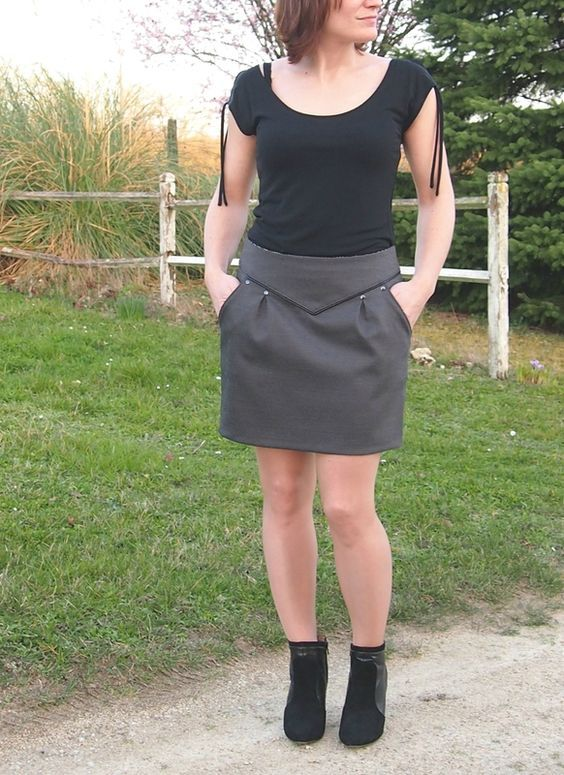 tuto couture jupe chataigne