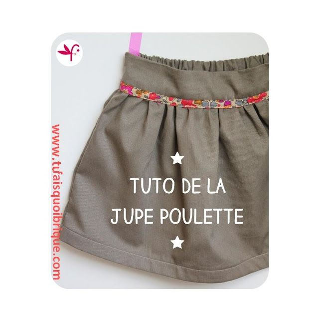 tuto couture jupe fille 10 ans
