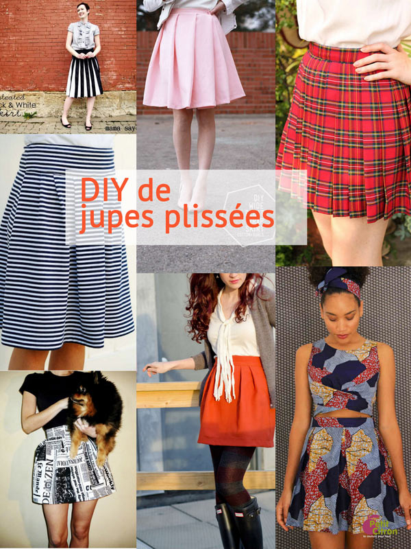 tuto couture jupe plissee