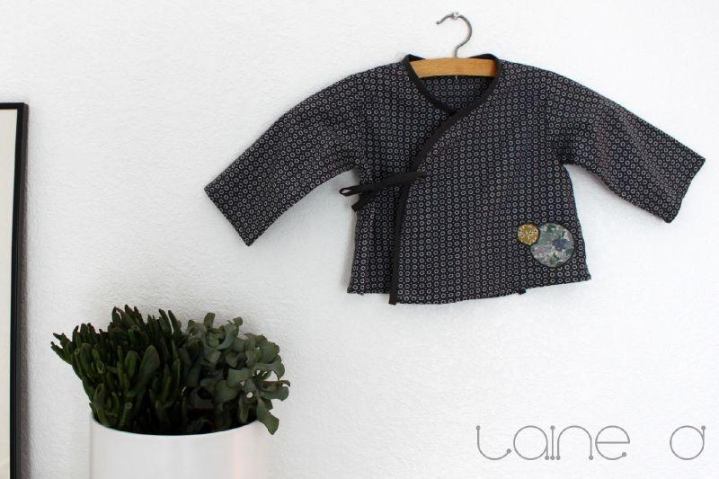 tuto couture kimono bebe