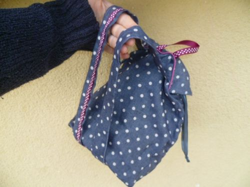 tuto couture knot bag