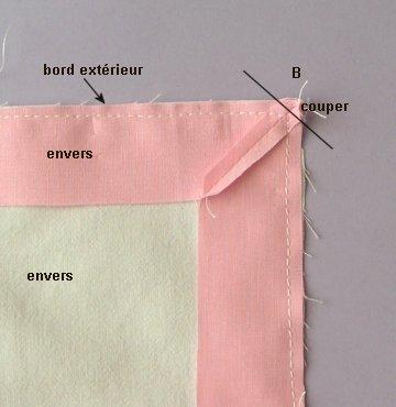 tuto couture nappe ronde