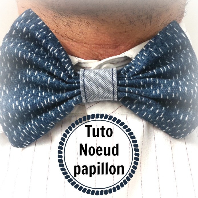 tuto couture noeud papillon facile