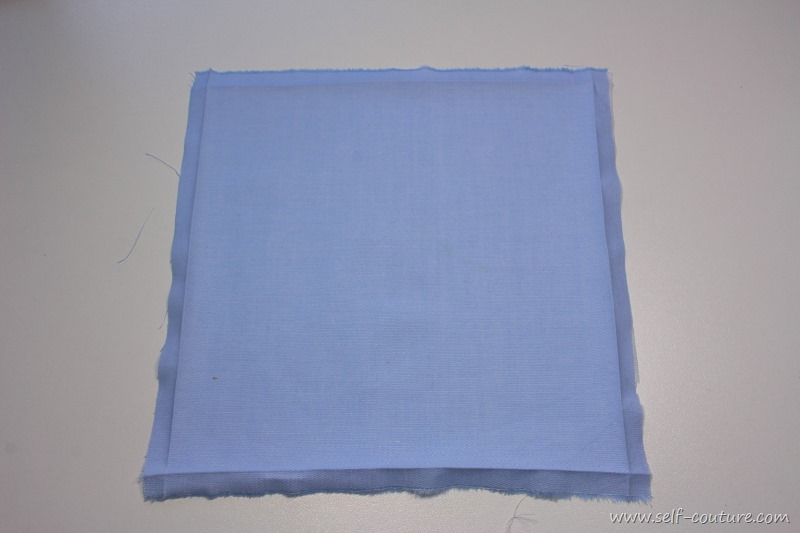 tuto couture ourlet nappe