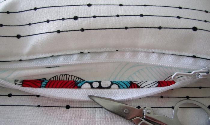 tuto couture poche interieure sac
