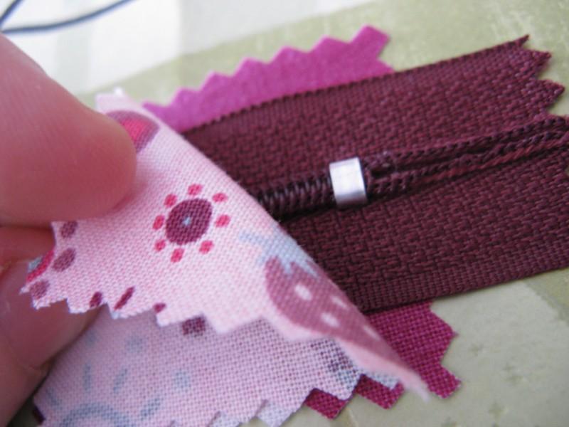 tuto couture pochette fermeture 20 cm