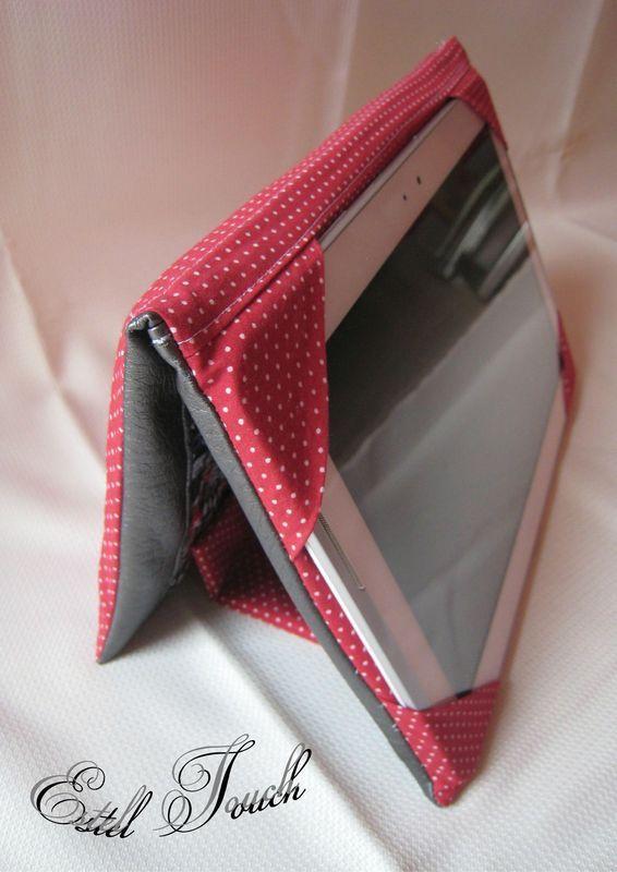 tuto couture pochette tablette