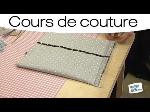 tuto couture pochette wax