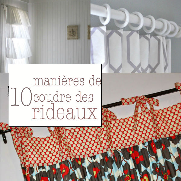 tuto couture rideaux