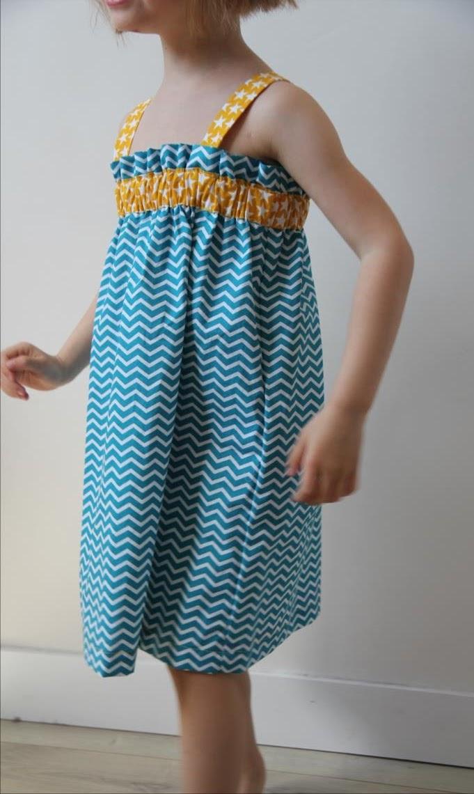 tuto couture robe 4 ans