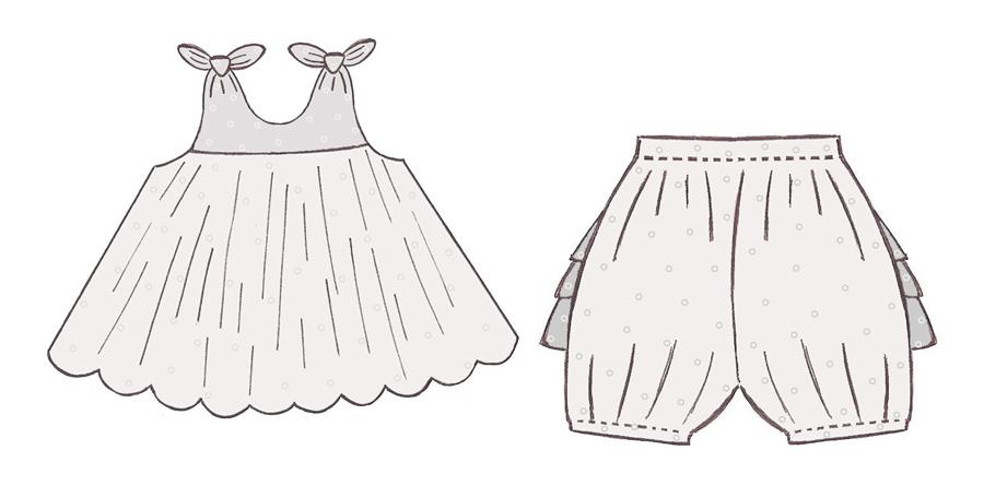 tuto couture robe bebe 3 mois