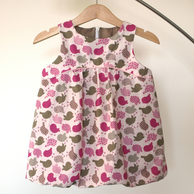 tuto couture robe bebe 6 mois