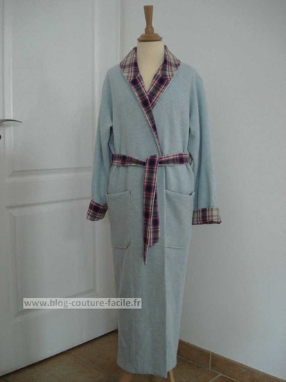 tuto couture robe de chambre