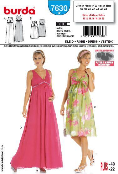 tuto couture robe femme enceinte