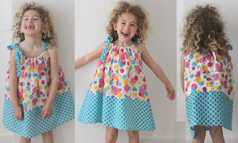 tuto couture robe fille 4 ans - Tutoriel couture et tricot