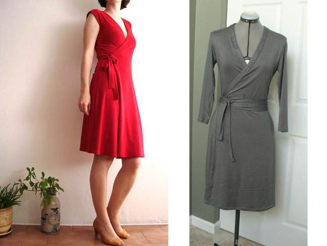 tuto couture robe portefeuille