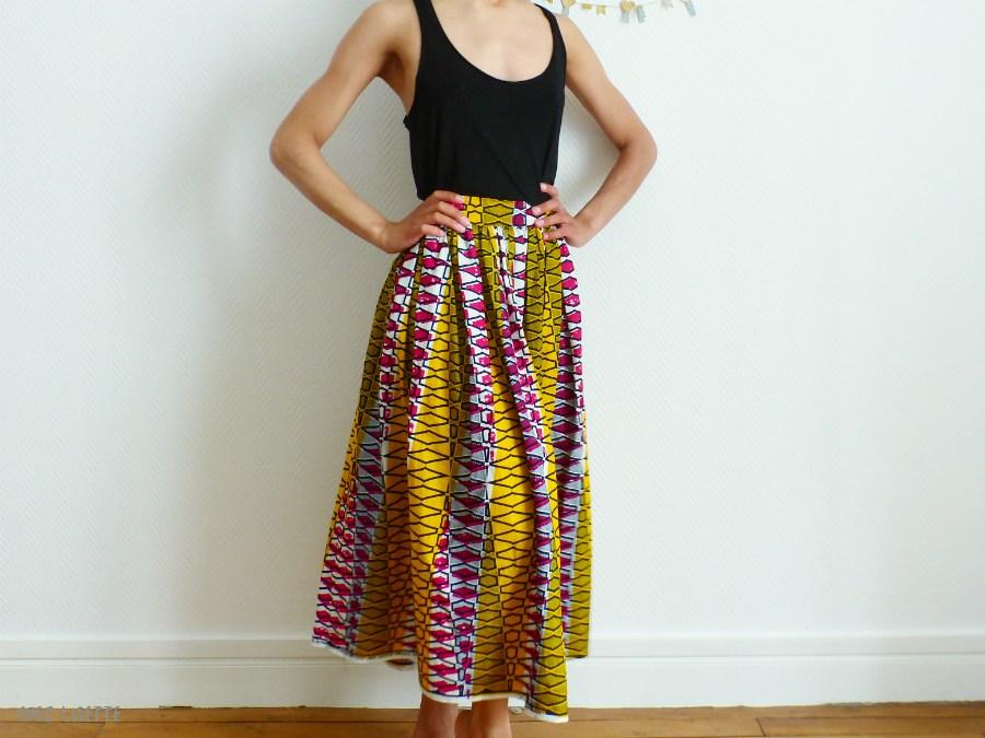 tuto couture robe wax