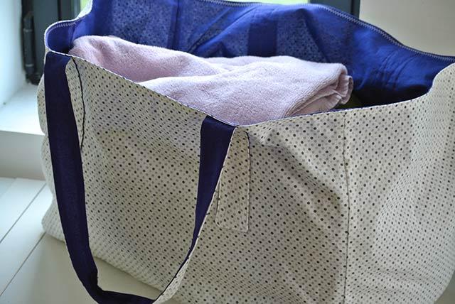 tuto couture sac de plage tutoriel couture et tricot. Black Bedroom Furniture Sets. Home Design Ideas