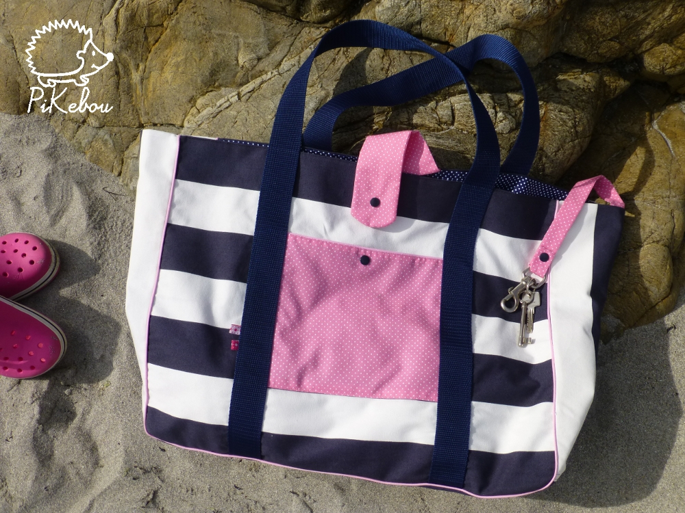 tuto couture sac de plage