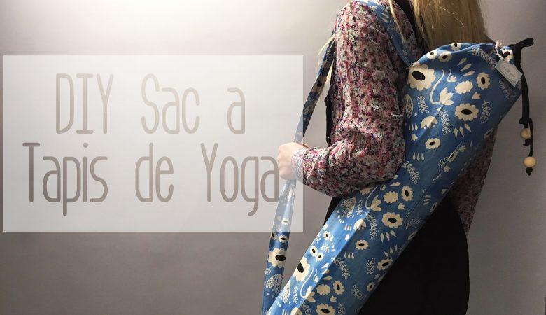 tuto couture sac tapis yoga