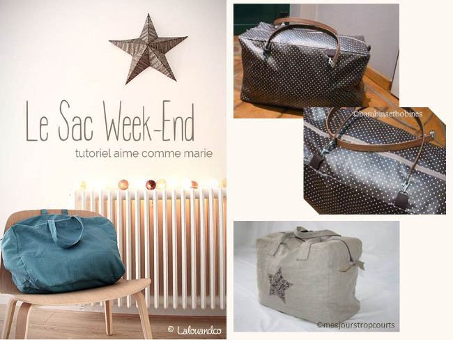 tuto couture sac week end