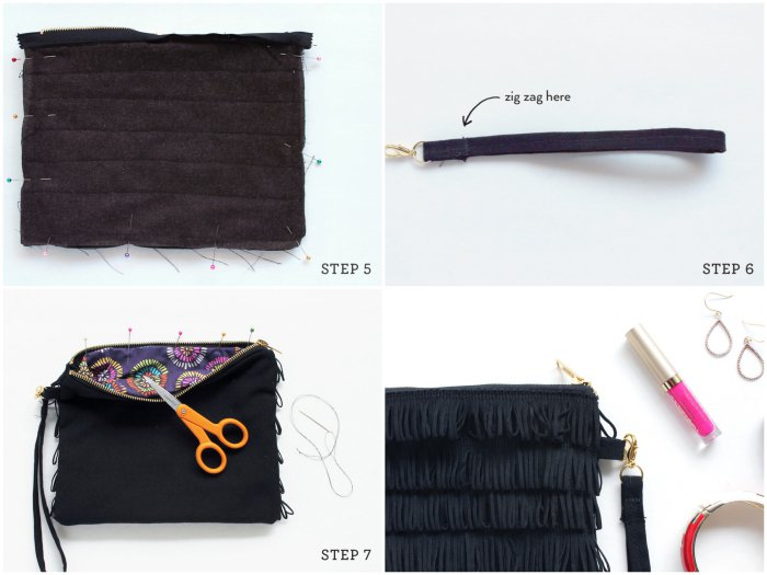 tuto couture sac zippe