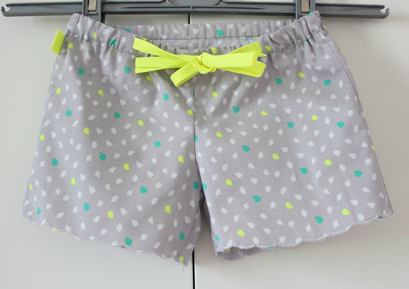 tuto couture short 18 mois