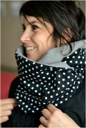 tuto couture snood femme