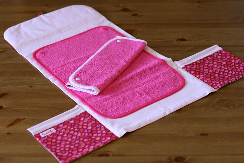 tuto couture tapis a langer nomade