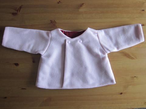 tuto couture veste bebe