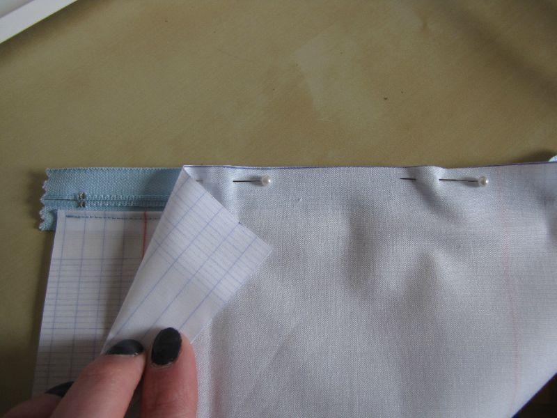 tuto couture zip invisible