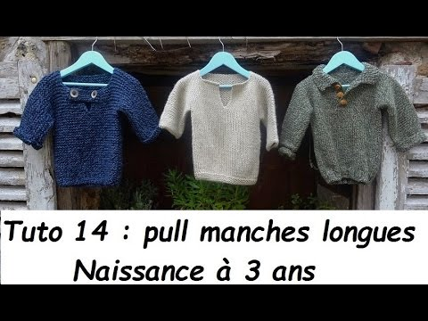 tuto tricot 2 ans