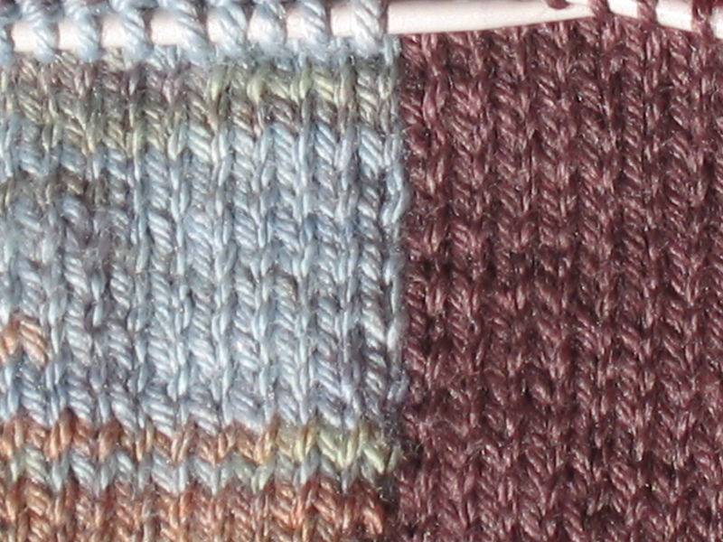tuto tricot 2 couleurs