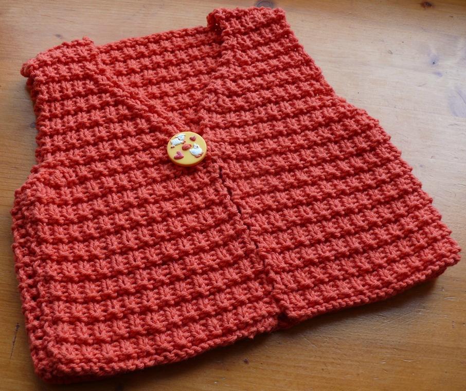 tuto tricot 6 mois