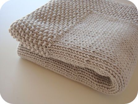 tuto tricot augmentation intercalaire point mousse