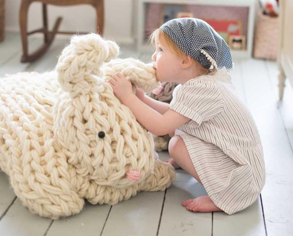tuto tricot avec les bras